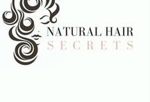 Natural Hair Secrets / Re-defining and forever evolving the natural look to feature the beautiful 4C and Black hair textures and styles.