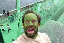 Color Run Paris - Trolled by RunTroll / We went to cheer on the Runners of #ColorRun2014 #ColorRunParis #ColorRun