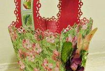 Paper Crafts / Cajas, bolsas y mas hechas con papel