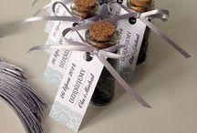 Prezenciki dla gości - buteleczki z herbatą / buteleczki z herbatą - prezenciki dla gości projekt, wykonanie, zdjęcie: minwedding http://minwedding.pl/blog/?p=2188