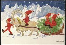 Skandinaviska tomtar / Tomtar or nissar,not gnomes!