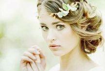 Bruidsmake-up & inspiratie / Alle info die je nodig hebt voor de perfecte bruidslook!  #trouwen #make-up #hairstyling