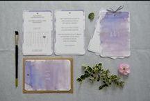 """""""Kalendarz"""" - zaproszenia / kolekcja 2015 by minwedding ~~~ motyw przewodni: kalendarz, romantyczny ślub, boho, lekkość, akwarele ~~~ kolory przewodnie: odcienie fioletu ~~~ projekt, wykonanie, zdjęcia: minwedding more on: http://minwedding.pl/blog/?p=3603 ~~~ zaproszenia zaproszenia ślubne wedding invitations"""