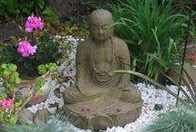 Buddha in the garden