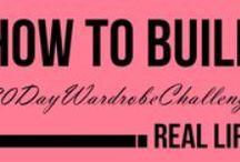 30DayWardrobeChallenge / My 30 Day Wardrobe Challenge!