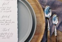 Tablescapes/Place Settings