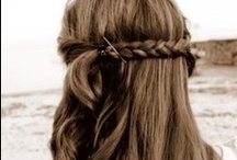 Hair is a woman's first accessory <3 / If you have long, short, mid,curly, wavie, smooth, brown, blonde, red any kind of hair (and you are a woman) i believe you enjoy braiding, styling and doing other things with your hair. So here I leave you a board with beautiful hairsstayles that I loved and I bet you will love <3 Love, Isi :)