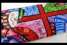 Christmas Holiday Fabrics / Christmas fabrics for your quilting & sewing gifts & projects!