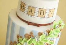 Baby shower/ Christening cakes