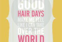 Having a good hair day