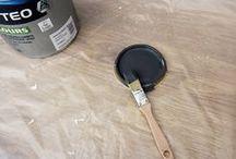 Peinture dépolluante / Captéo, la peinture qui capte et détruit jusqu'à 80% des polluants intérieurs. A découvrir chez Couleurs de Tollens et disponible dans + de 1000 teintes du nuancier Tollens.