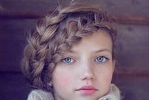 Make up / Hairstyles / Idées maquillage et coiffures. Makeup and hairstyles ideas.