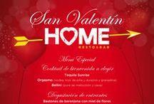 Menús especiales / Menús especiales para ocasiones especiales (Grupos, San Valentín, etc).