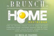 Brunch HOME Resto&Bar / Brunch para empezar con fuerza el fin de semana. Sábados y domingos de 10:30 a 14 horas.