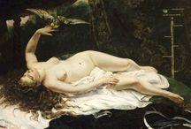 Gustave Courbet / Sanatçıya ait resimler.