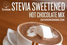 Stevia Cocoa Mixes / Sugar-Free, Diabetic Friendly Drink Mixes for all tastes. Naturally sweetened with Stevia and Xylitol. Offering Sugar-Free White Chocolate, Sugar-Free Chai, Sugar-Free Frappe and Sugar-Free Chocolate flavors, as well as traditional drink mixes.