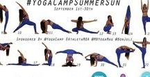 Yoga Camp - Instagram Challenges / Instagram Yoga Challenges are a great way to join our Yoga Camp #commUNITY. Join us!
