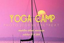 Yoga Camp Fall Retreat - Madeline Island / 2016 Dates: October 13-16 - Madeline Island, Wisconsin