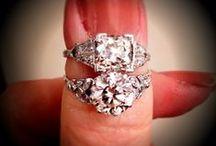 Antique Jewellery ~ Diamond Rings / by Fidra Jewellers