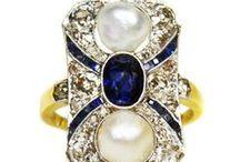 Antique Jewellery ~ Gemstone Rings / by Fidra Jewellers