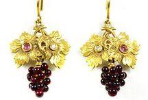 Antique Jewellery ~ Earrings / by Fidra Jewellers