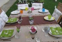 Jolies tables // Pretty tables / De jolies tables pour de belles fêtes!