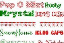 Polices de caractère // Fonts / Voici des polices de caractères pour écrire de jolies lettres!