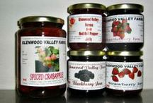 Jams, pickles and all that good stuff in a Jar.