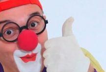 Клоун Дима / Он и в гриме и без грима вечный клоун - Клоун Дима!!)))
