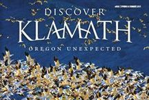 Discover Klamath Magazines / These are the covers of our quarterly and biannual Discover Klamath magazines. We love creating these publications about all that we call Oregon Unexpected! Check out the digital versions of these amazing publications at http://discoverklamath.com/