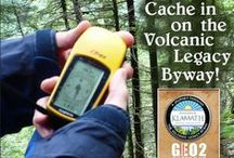 Geocache Tour 2014 / Discover Klamath announces its second Volcanic Legacy Scenic Byway Geocache tour! Download the official passport and enjoy finding all 16 cache codes to receive a trackable geocoin (while supplies last). tinyurl.com/nkoyjp2