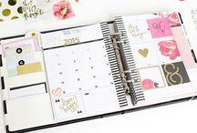 Agendas // Planners / Planners : des planners, des idées, décoration et organisation !