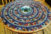 Bottle caps tables