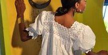 Karibiska kläder / Ideer och inspiration för att skapa egna kläder med kreol-stil.