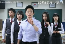 Death Bell / Students at an elite high school, preparing for mid-term exams, are held captive and forced into a series of sadistic games. The students find themselves plunged into a deadly test where they are picked off one by one and held in impenetrable traps where they must rely on the amazing intellects of their classmates to be released, every time a question is answered incorrectly, a classmate meets their torturous, grizzly death.