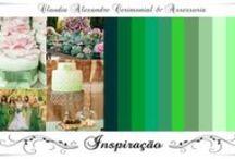 Casamento | Decoração em Mint/Verde