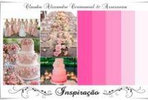 Casamento | Decoração em Rosa