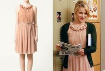 Quinn Fabray clothes in Glee / Vêtements de Quinn Fabray dans Glee