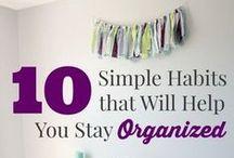 Organisatie huis / leven / Tips for organizing live