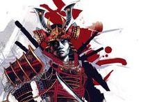 Samurai / samurai e guerrieri del giappone feudale