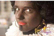 Sinterklaas en Zwarte Piet / In november is het tijd voor alle hulpsinten en hulppieten om in actie te komen, want Sint en Piet kunnen wel wat hulp gebruiken. Hoe tover je iemand om in een vriendelijke Sinterklaas en hoe schmink je Zwarte Piet?