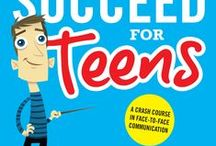 Teen Social Skills Book / Communication skills for teens. Looking for a book on social skills for teens? Smile & Succeed for Teens is an award-winning CRASH COURSE in people skills to ensure your teens succeed in school, work and life.