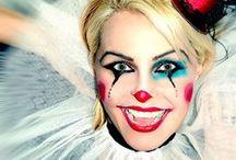 Clown schminken / Een clown schminken kan op zoveel verschillende manieren. Kijk op dit bord voor inspiratie.