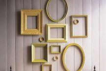 Ideas cosas decorativas / Buenas ideas para ir dejando un toque especial en distintos lugares de la casa, momentos y ocasiones, para reciclar y reutlilizar y para entretenerse imaginado!