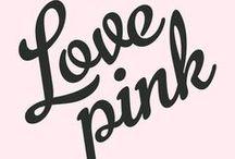 PINK / Rose attitude!