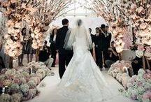 Casamento | Decoração da Cerimônia / Inspirações para o local da cerimônia, seja na igreja, no buffet ou ao ar livre... Inspire-se!