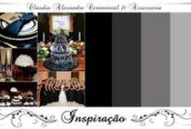 Casamento | Decoração em Preto