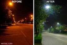 LED STREET LIGHTS / The introduction of LEDs throughout the range of street lighting luminaires is in response to the need to combine light quality and energy efficiency