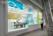 OFFICE LED-LIGHTING IDEAS / #lighting #lightingdesign #office #officedesign #officelighting #workplace #tasklighting #pendantlighting #LED #fluorescent #applications #modern #design #minimal #productivity  / by INITIAL-LED