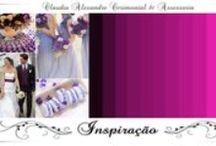 Casamento | Decoração em Lilás/Roxo/Lavanda